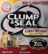 Arm & Hammer Clump and Seal Lightweight Multi-Cat Litter, 6.8kg