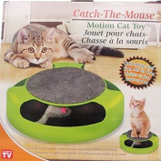 As Seen On Tv Catch The Mouse Motion Cat Toy turbo scratcher cat toy