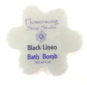 Black Linen Bath Bomb