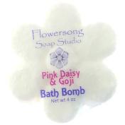 Pink Daisy & Goji Bath Bomb
