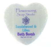 Sandalwood & Lilies Bath Bomb