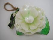 Thai Natural Handmade Jusmine Scented Bar Luffa Natural Soap Aroma Glycerin