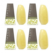 Thann Oriental Essence Rice Grain Soap Bar 100 g x 4 pcs. Free Coin Purse 2 pcs.