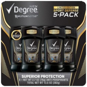 Degree Men Adrenaline Series Antiperspirant & Deodorant 80ml 5pack +50ml extra