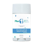 Plus 1 Skin Care All Natural Pregnancy Safe Deodorant, Aluminium Free, Preservative Free, All Day Protection, Eucalyptus with Aloe