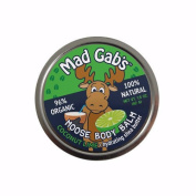 COCONUT LIME MOOSE BODY BALM 96% organic 100% natural by Mad Gab's 45ml