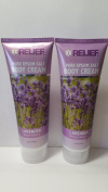 Relief Pure Epsom Salt Body Cream Calming & Relaxing Lavender 180ml