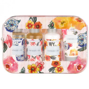 Heathcote & Ivory Vintage Pattern & Petals Travel Kit