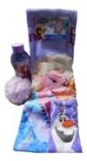 Disney Frozen Anna & Elsa Bath Time -4pc Bundle