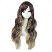Andao Girls Cosplay Wig Quality Synthetic Wigs Women Beauty Party Decoration Be3417
