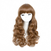 Andao Girls Cosplay Wig Quality Synthetic Wigs Women Beauty Party Decoration Be3157
