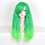 Andao Long Cosplay Wig Hig Quantity Wig Quality Synthetic Hairpieces Be3104