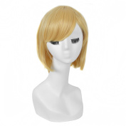Andao Long Cosplay Wig Hig Quantity Wig Quality Synthetic Hairpieces Be3122