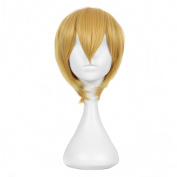 Andao Long Cosplay Wig Hig Quantity Wig Quality Synthetic Hairpieces Be3111