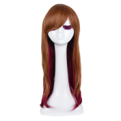 Andao Long Cosplay Wig Hig Quantity Wig Quality Synthetic Hairpieces Be3067