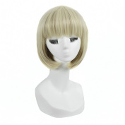 Andao Girls Cosplay Wig Quality Synthetic Wigs Women Beauty Party Decoration Be3164