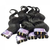 King Love Star Brazilian Virgin Hair Weave 6 Bundles 30cm a lot 300g Brazilian Body Wave Human Hair Extension Soft & Healthy