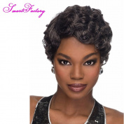 SmartFactory Softtextile Full Thin Skin Cap Human Hair Lace Wig