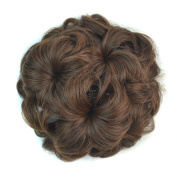 Simpleyourstyle Synthetic 14*7cm Flower Hair Bud Hair Claw Clip Hair Wigs for Women Girl #2M30