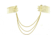 GAMT Chain Hair Side Combs 3pcs