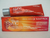Matrix Colour Sync Brilliant, Seamless, Ammonia Free Demi Colour with Cera Oil Complex - 7R Dark Blonde Red