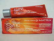 Matrix Colour Sync Brilliant, Seamless, Ammonia Free Demi Colour with Cera Oil Complex - 7R Dark Blonde Red