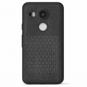 LG Nexus 5X Case TOOPOOT For LG Nexus 5X Bumper TPU Leather Flannel Case