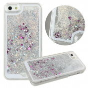 Iphone 5 5s Back Case TOOPOOT For iPhone 5 5s Bling Glitter Stars Fantasy Shiny Case