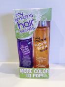 My Amazing Blow Dry Secret Colour Boost Foam Rinse & Repair & Shine Serum Set