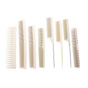 KIKI NEW GAIN Hair Combs 8pcs Hair Comb Set, Anti-static, High Temperature Resistant