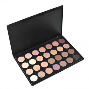 Healthcom Pro 28 Colours Neutral Warm Nude Matte Eye Shadow Makeup Palette Cosmetics Set