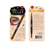 Odbo 2in1 Auto Eyebrow Pencil Natural Soft 24hr Lasting Waterproof # 03 Brown