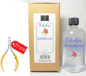 T-L-Gel Bonder A-D 240ml + Free 1 Cuticle Nippiers