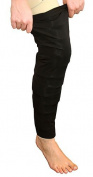 Circaid Whole Leg Comfort Coverup, Large, Black