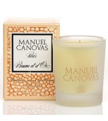 Brune et d'Or Candle 35ml by Manuel Canovas by MANUEL CANOVAS
