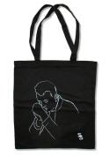 """Sam Smith """"Illustrated"""" Black Tote Bag"""