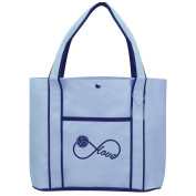 Fashion Tote Bag Shopping Beach Purse Infinity Infinite Love for Volleyball