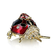 Welforth Lady Bug Trinket Box Model No. J-2009
