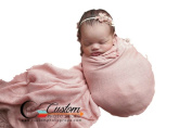 Weathered Rose Lux {Luxury} Stretch Knit Newborn Baby Wrap, Photography Props, Newborn Photography Props, Baby Props, Photo Props