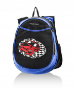 O3 Kids Pre-School All-In-One Backpack With Cooler Racecar
