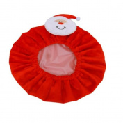 Double Layer Cartoon Duck Frog Santa Claus Waterproof Bath Shower Cap for Kids