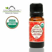 US Organic 100% Pure Sweet Orange Essential Oil - USDA Certified Organic - 10 ml