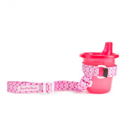 BooginHead SippiGrip Cup Holder, Pink Hearts