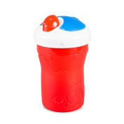 BooginHead SippiSnack Cup with Snack Holder, Red/Blue