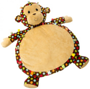 Mary Meyer Taggies Dazzle Dots Monkey Toy, Baby Mat