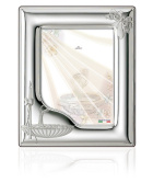 Silver Touch USA Sterling Silver Picture Frame, Baptism, 13cm X 18cm