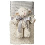 Marshmallow Lamb Cuddle Blanket