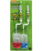 TMNT Bottle & Nipple Brush 2-Pack - red/blue, one size