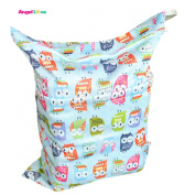 Baby Waterproof Washable Reusable Wet and Dry Cloth Nappy Bag L25