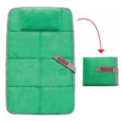 Baby travel changing pad green